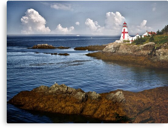 East Quoddy Lighthouse by Kathy Weaver