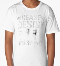 Desist t shirts redbubble cease desist long t shirt thecheapjerseys Gallery