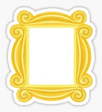 Peephole Frame Sticker