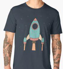 Cool Kids Spaceship Rocket  Men's Premium T-Shirt
