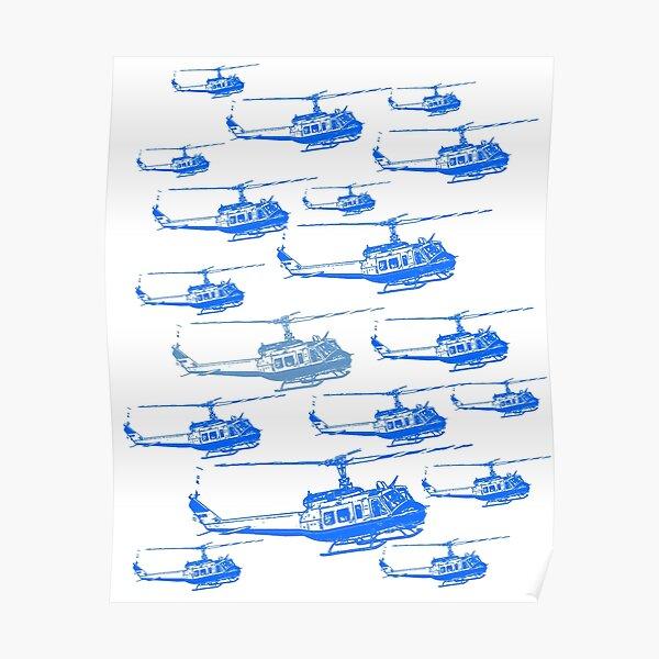 UH-1H Iroquois Huey Poster