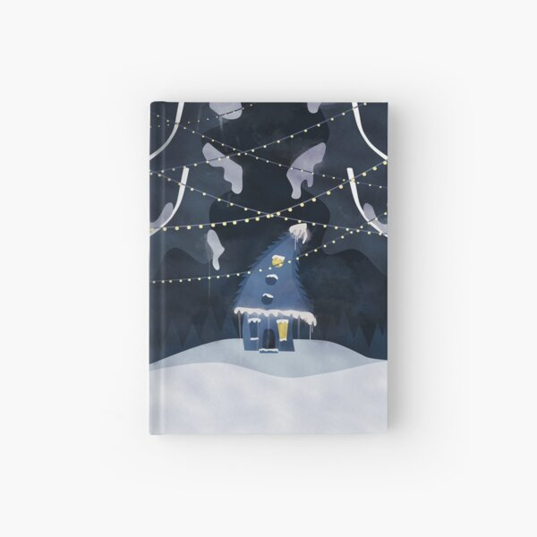 Into the Winter Woods Hardcover Journal
