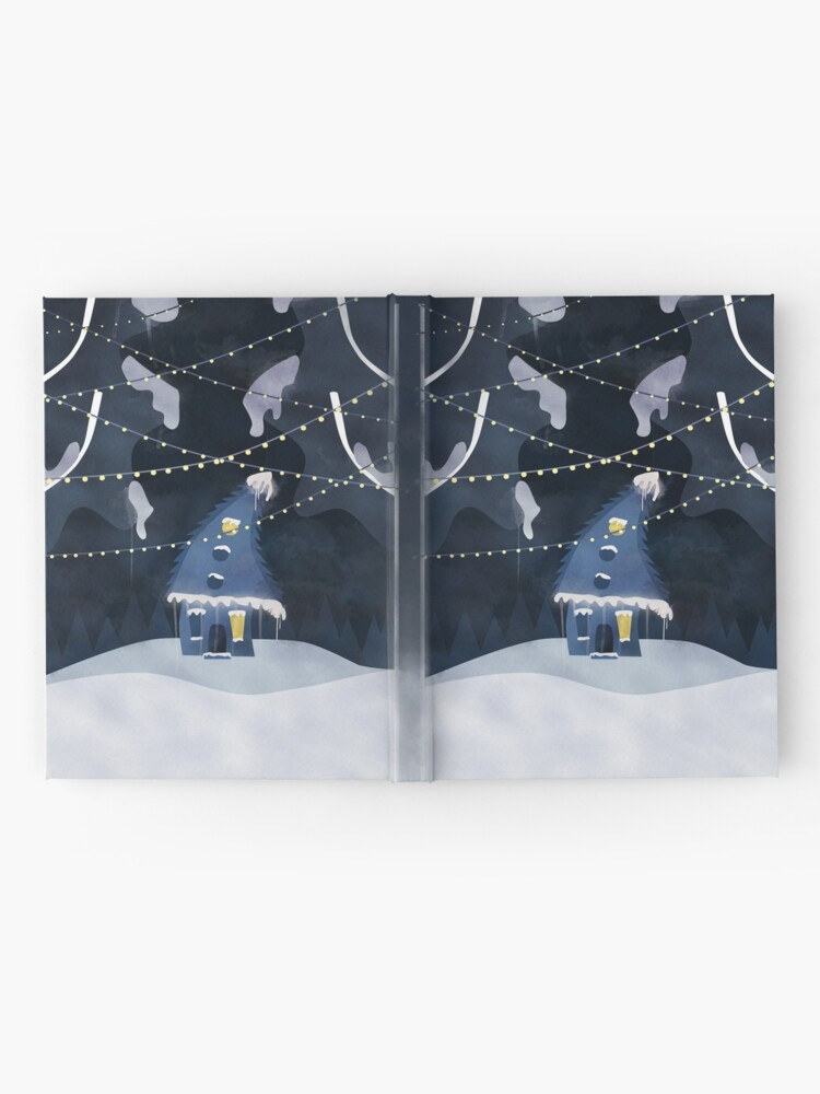Alternate view of Into the Winter Woods Hardcover Journal
