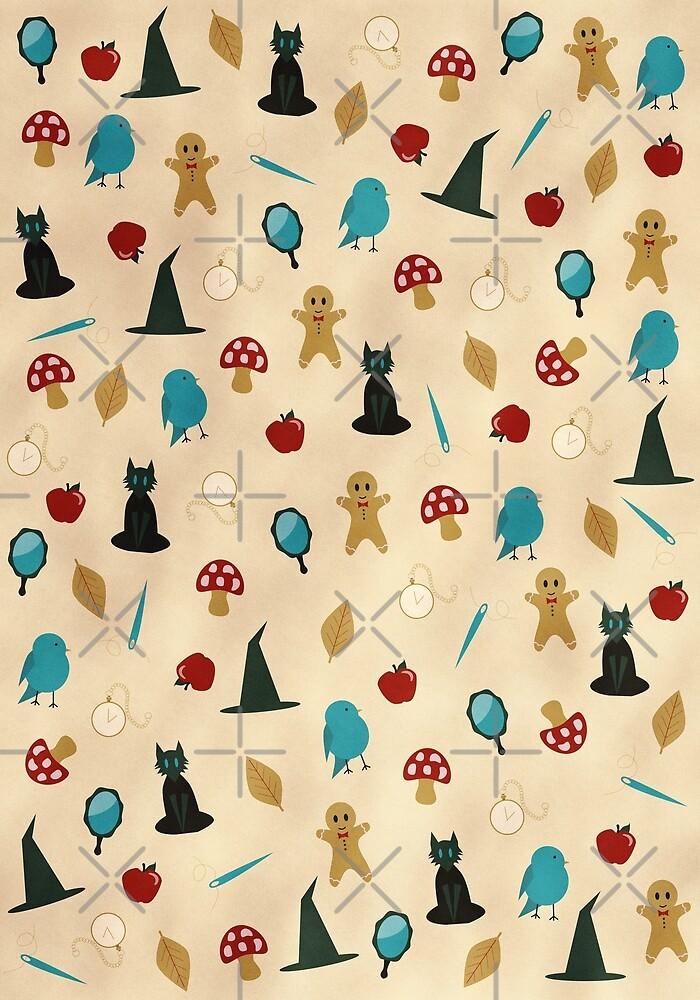 Fairytale Pattern by Alexa Weidinger