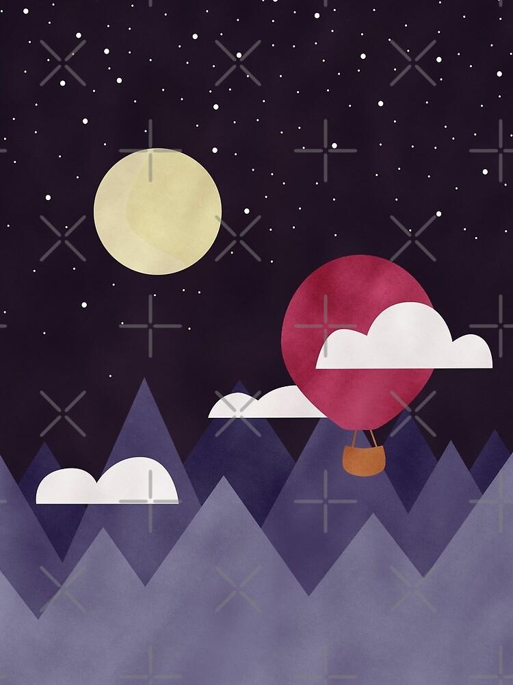 Moon Sailing by lexamay