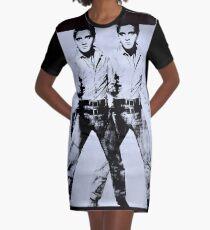 ELVIS : Vintage Restored Print Graphic T-Shirt Dress
