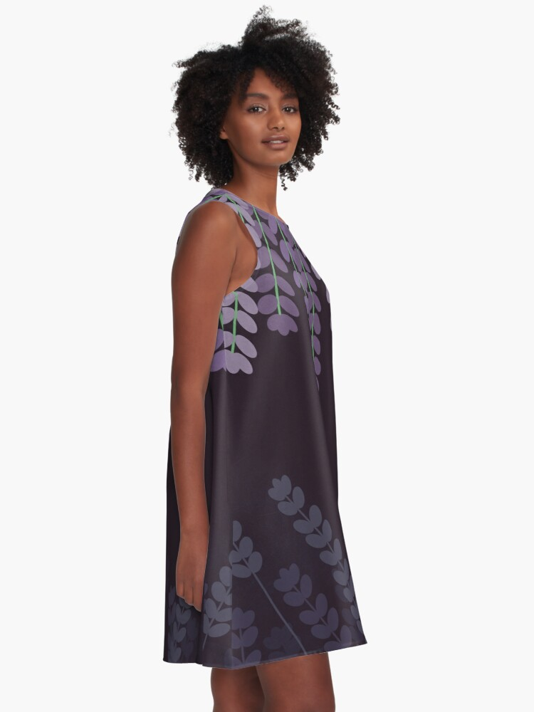 Alternate view of Lavender A-Line Dress