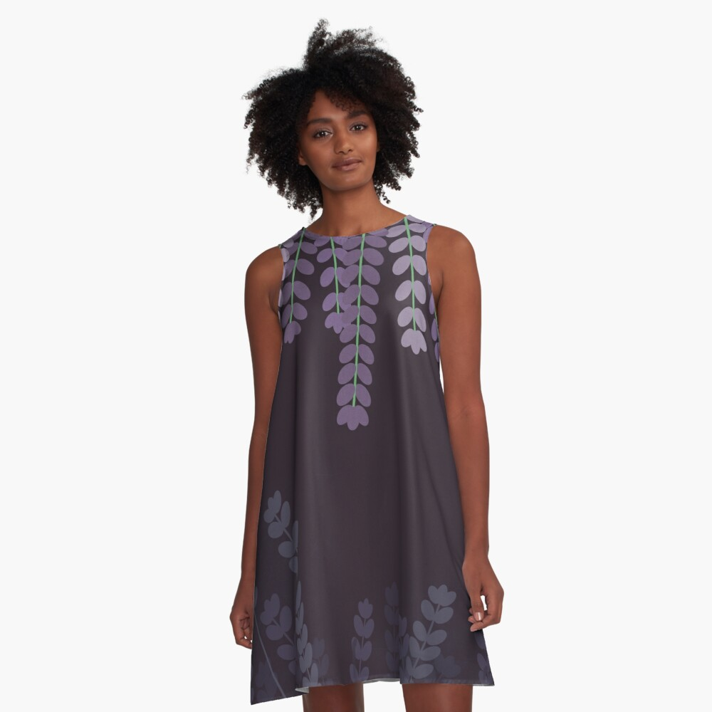 Lavender A-Line Dress