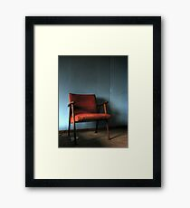'The chair' Framed Print