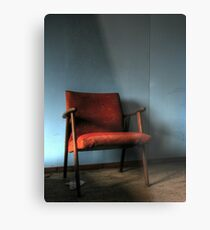 'The chair' Metal Print