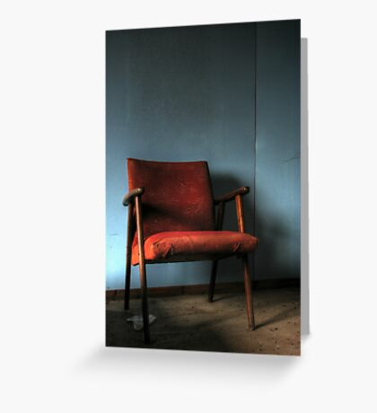 'The chair' Greeting Card