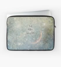 be the light Laptop Sleeve