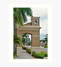 Ponce de Leon Entrance Art Print