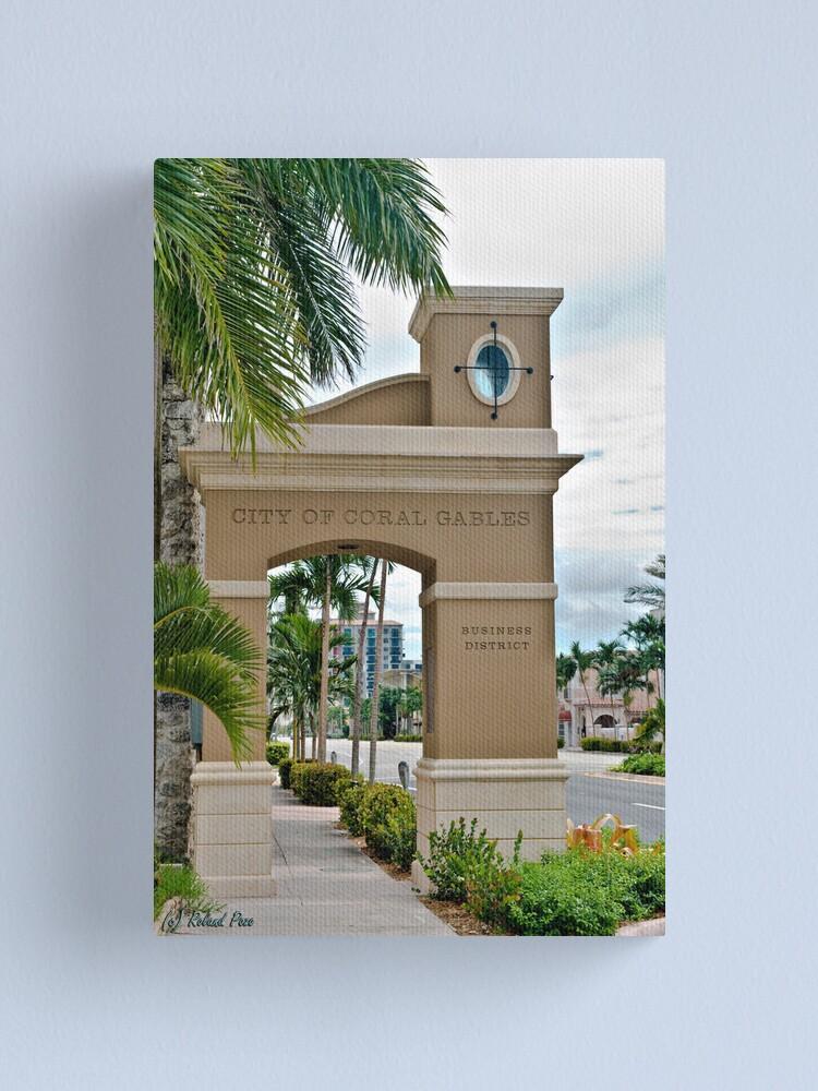 Alternate view of Ponce de Leon Entrance Canvas Print