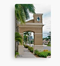 Ponce de Leon Entrance Canvas Print