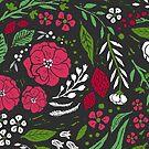 Festliche botanische von Jacqueline Hurd