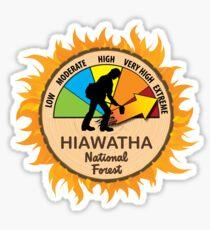 Hiawatha National Forest Wildland Firefighter Sticker