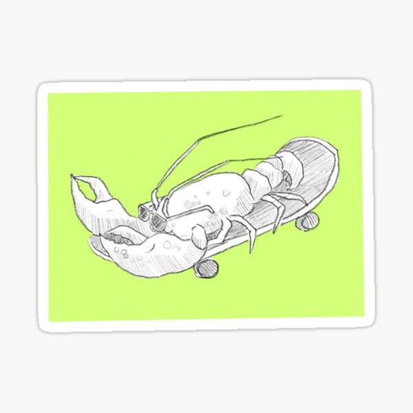 Lobstah Sticker