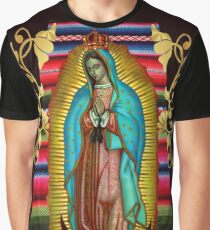 Our Lady of Guadalupe Virgin Mary Zarape 08 Graphic T-Shirt