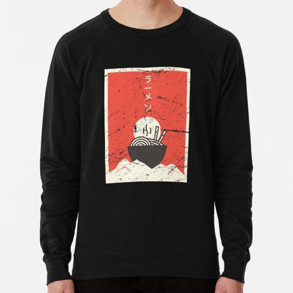 Vintage Japanese Anime Ramen Lightweight Sweatshirt
