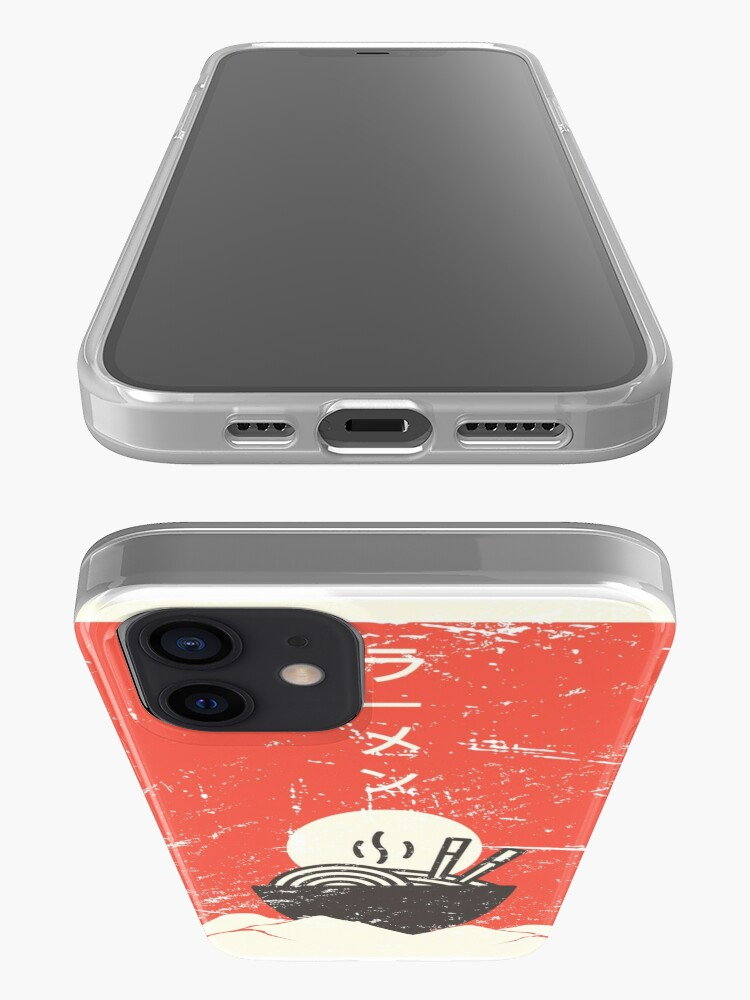 Alternate view of Vintage Japanese Anime Ramen iPhone Case & Cover