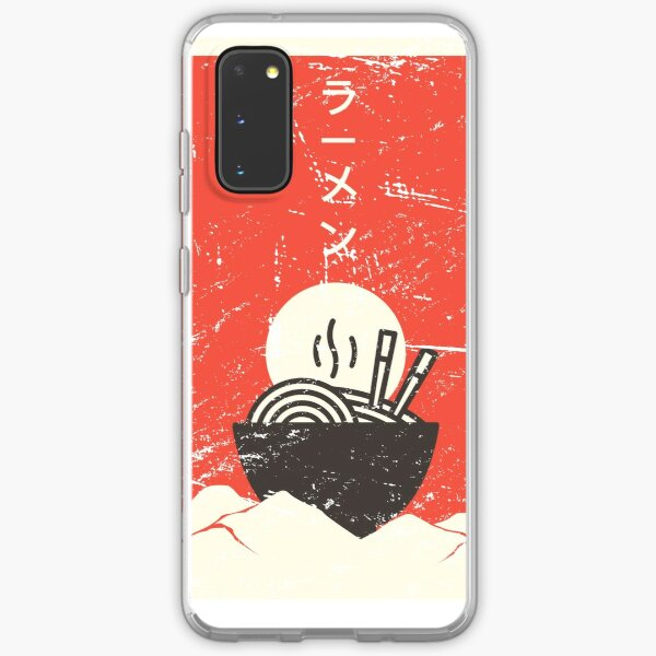 Vintage Japanese Anime Ramen Samsung Galaxy Soft Case