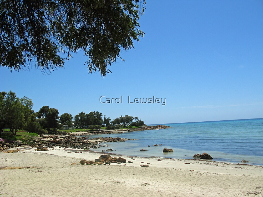 dunsborough beach by Carol  Lewsley