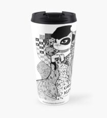 #meowdernart - Catstav Klimt Travel Mug