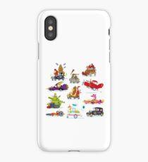 Wacky Races iPhone Case/Skin