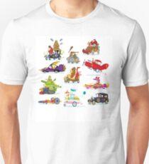 Wacky Races Unisex T-Shirt