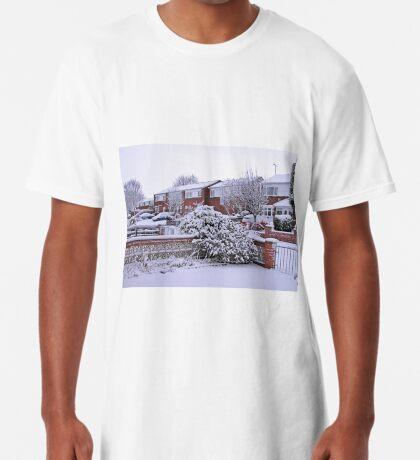 Jungfrau Schnee Longshirt