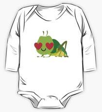 Grasshopper Emoji   One Piece - Long Sleeve