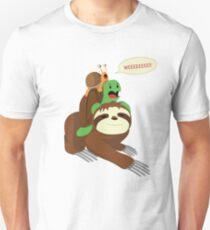 Wee Snail Turtle Sloth Buddies T-Shirt