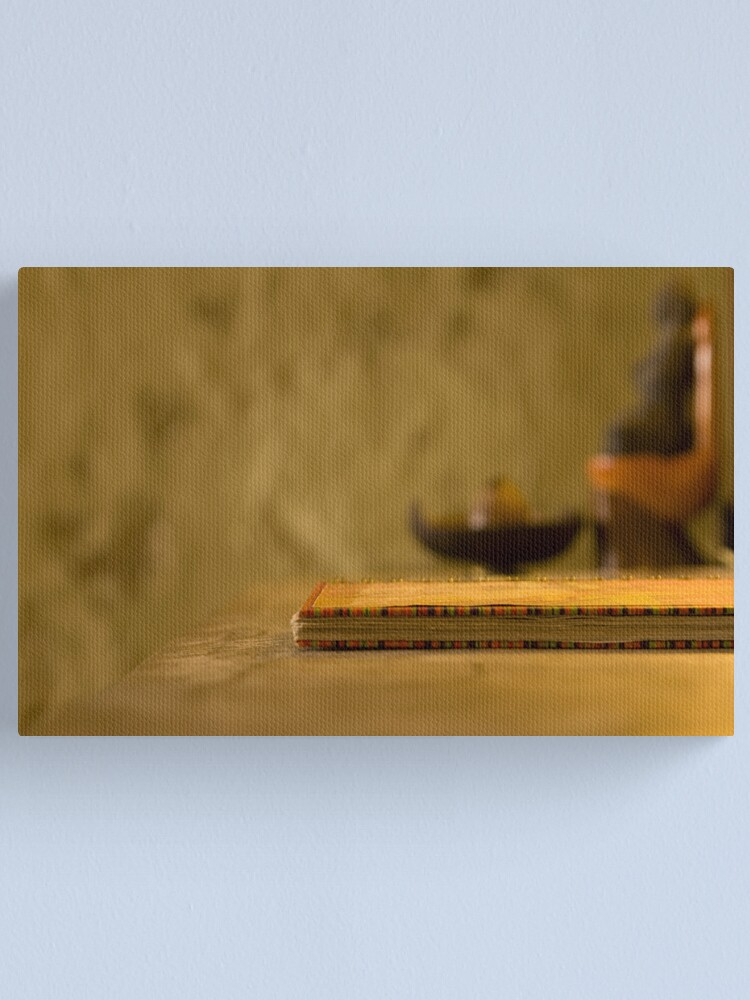 Alternate view of The good book Canvas Print