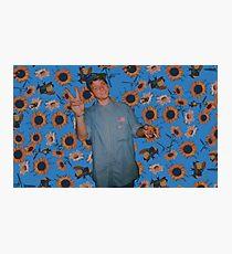 Flower Boy Mac Photographic Print