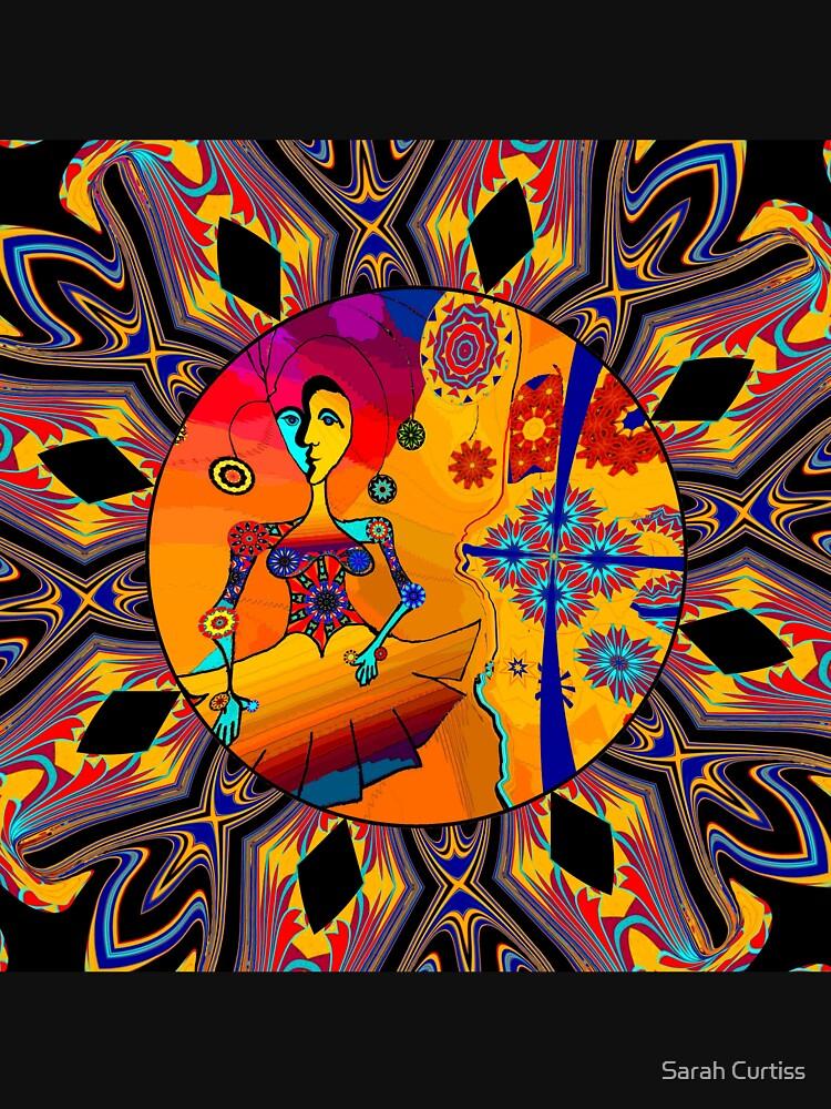 Girl With Kaleidoscope Eyes by GraceArt