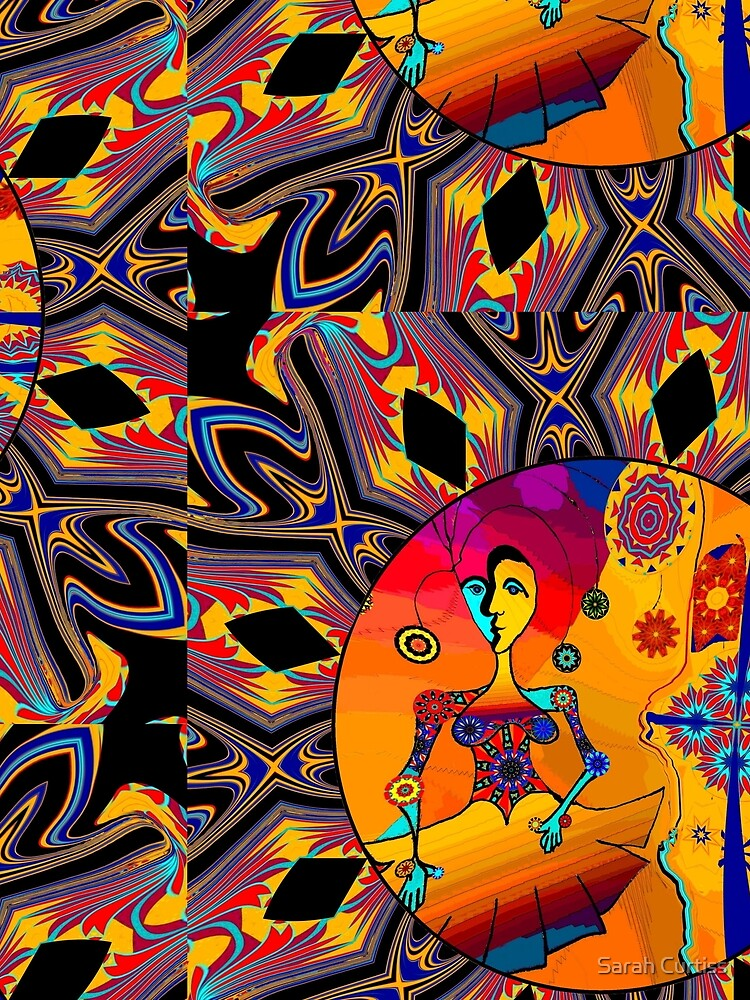 Girl With Kaleidoscope Eyes by GraceArt