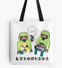 extortion - f*ck work Tote Bag