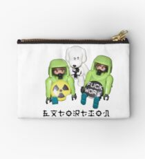 extortion - f*ck work Zipper Pouch