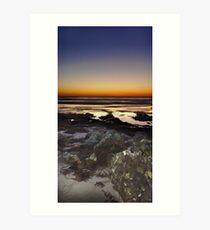 PhotoArt Sunset Art Print