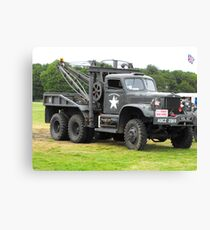 WW11 Recovery Truck Canvas Print