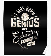 Born Genius Poster