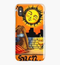 The Sun Tarot iPhone Case/Skin