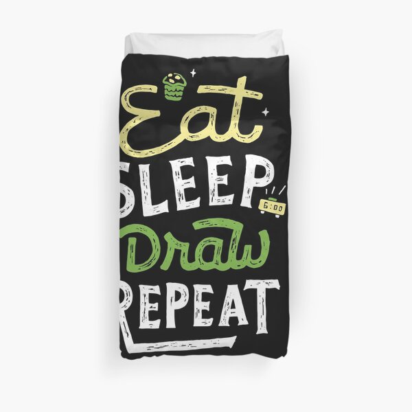 Repeated Duvet Cover