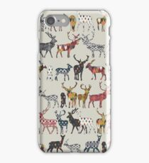 oatmeal spice deer iPhone Case/Skin