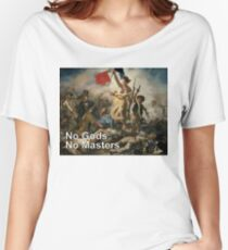 French  Revolution - No Gods, No Masters.  Women's Relaxed Fit T-Shirt