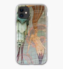Avalon Casino entrance - mermaid mural iPhone Case
