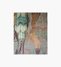 Avalon Casino entrance - mermaid mural Art Board