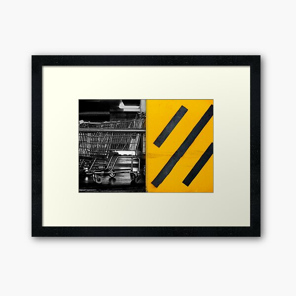urb underground Framed Art Print