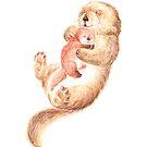Otter Love by Mariya Prytula